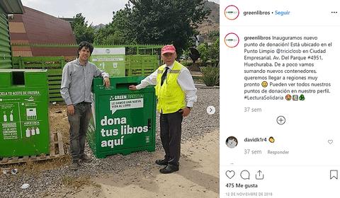 Donde donar en green libros
