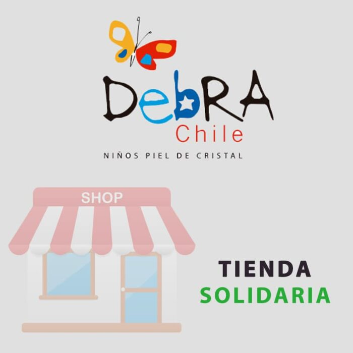 """Ayuda a los niños con """"piel de cristal"""" en la primera tienda solidaria en Chile"""