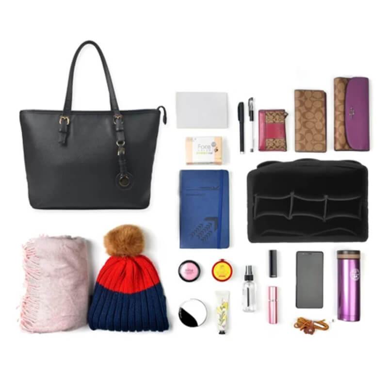 organizar carteras y bolsos