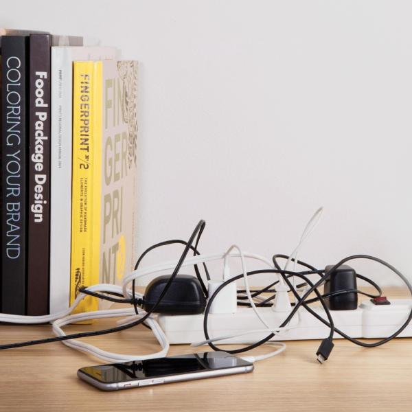 Cómo ordenar los cables: tips para evitar accidentes y mantener ordenado