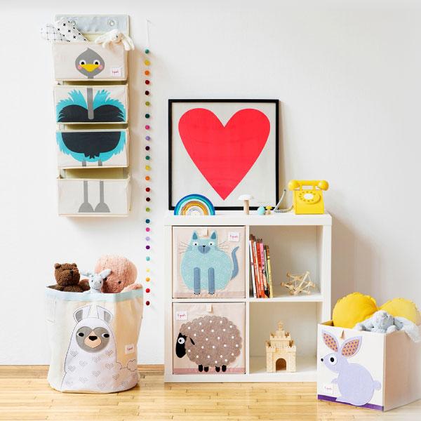 5 consejos para ordenar la habitación de los niños
